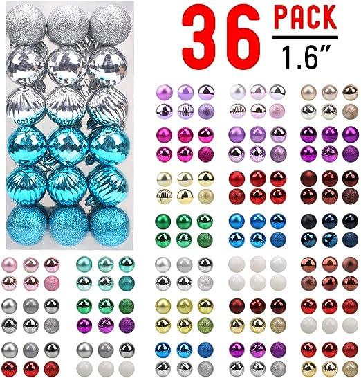 10pcs Set See Through Hanging Plastic Balls Christmas Design Candies Twigs Case
