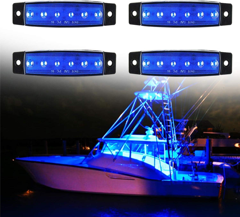 Amazon.com: PSEQT LED Marine Boat Deck Courtesy Interior Light Navigation  Utility Lights for Kayak Yacht Pontoon Transom Cockpit Bow Stern  Waterproof: Automotive