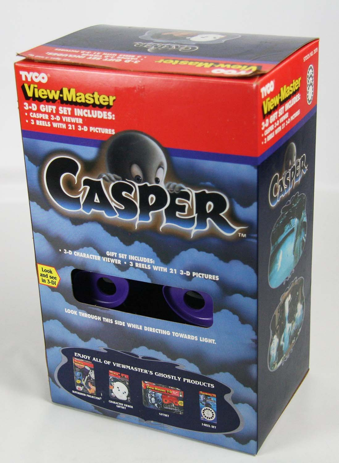 ViewMaster - Casper Character Viewer & 3 reels from 1995 movie - NEW by 3Dstereo Gift Set (Image #1)