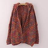 OWMEOT Lady Faux Fur Vest Waistcoat Long Hair