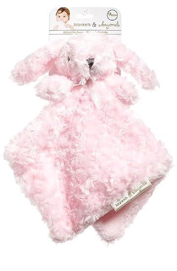 Amazon Com Blankets And Beyond Pink Rosette Bunny Nunu Baby