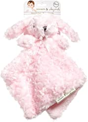 125e9d481b Blankets and Beyond Pink Rosette Bunny Nunu Baby Security Blanket