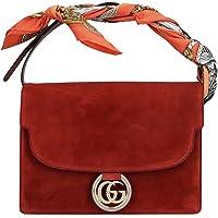Luxury Fashion | Gucci Dames 5964781DGOG6779 Rood Suôde Handtassen | Herfst-winter 19
