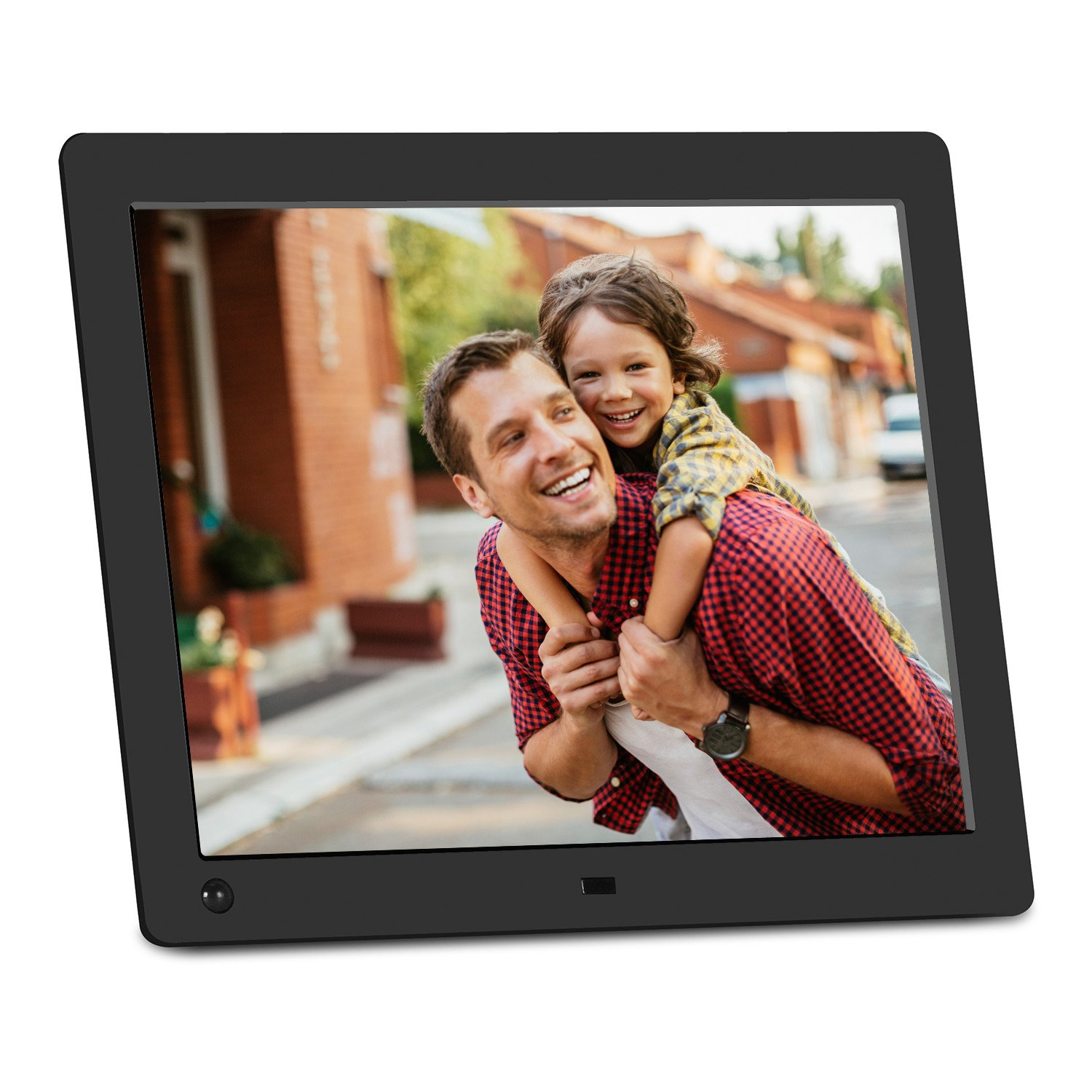 nix advance 10 inch digital photo hd video 720p frame with motion sensor 8gb usb