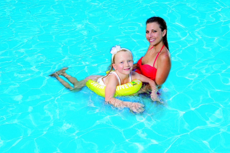 Amazon.com: Freds Swim Academy SwimTrainer Classic - Yellow (4 - 8 years): Toys & Games