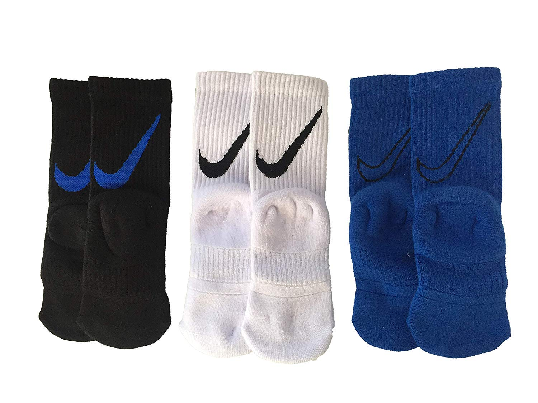 Nike Kids' High Brande Read Trainers Crew Socks 3-Pack