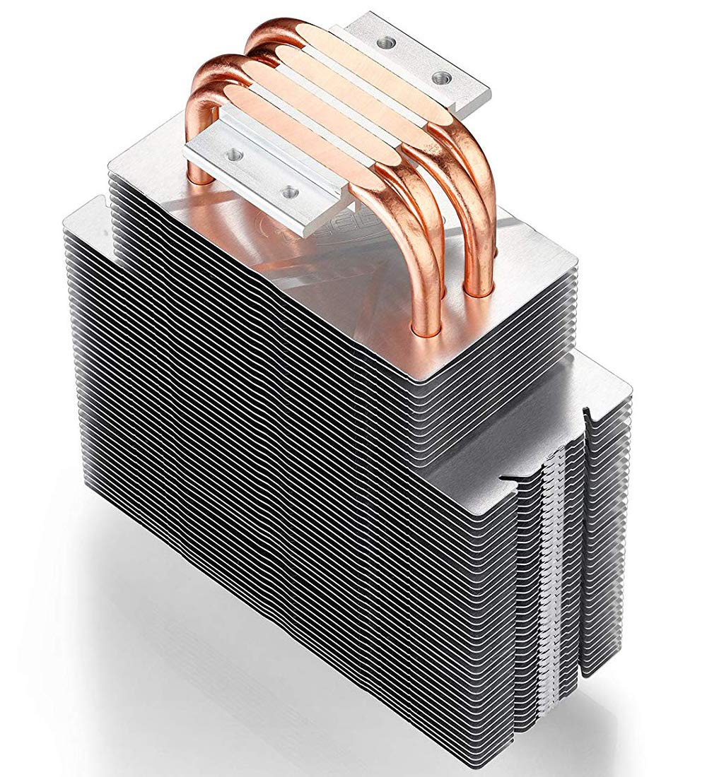 DEEPCOOL CPU Refroidisseur dair 6 Heatpipes Neptwin White