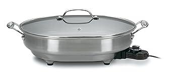 Cuisinart csk-150 1500-watt ovalada antiadherente eléctrica sartén