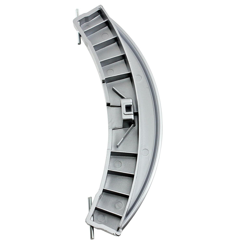 Amazon.com: SPARES2GO Plata Tirador de puerta & Pin Kit para ...