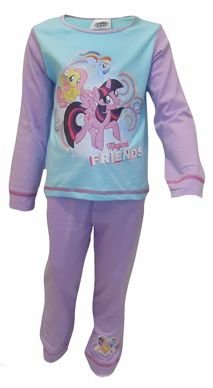 Pony My Little Pony Magical Friends Little Girls Pajama Set 2-Piece Pajamas TDP Textiles
