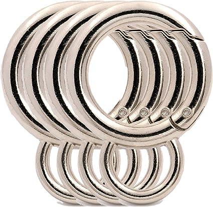1 14 inside ZINC ALLOY Oval Rings Buckle Purse Hardware 4pcs 32mm