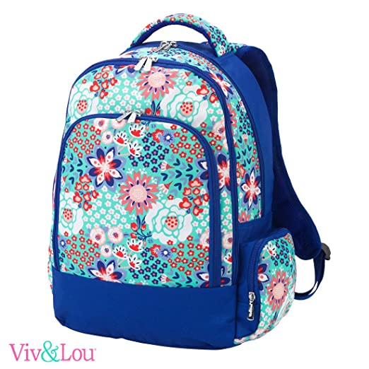 Reinforced Design Water Resistant Backpack (Garden Party)