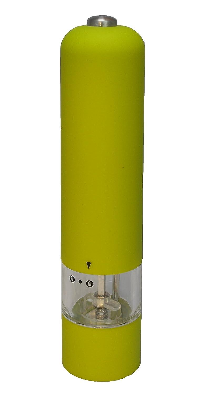 Kamenstein Electric Pepper Grinder - Herb Spice Salt Mill (Green) Kamerstein