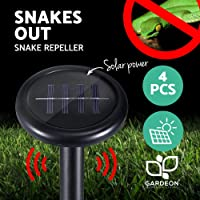 Snake Repeller-Gardeon 4pcs Solar Powered Snake Repellent Deterrent