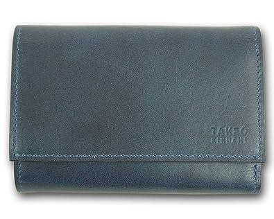 c8a42d25072f (タケオキクチ) TAKEO KIKUCHI アンティーク 牛革 キーケース&三つ折り財布 メンズ ネイビー系