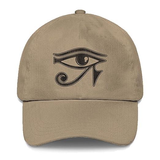 Amazon.com  Tcombo Eye of Horus Dad Hat (Beige)  Clothing 00079e8a620