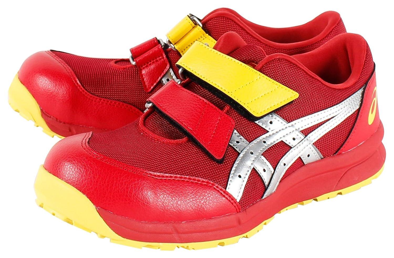 [アシックスワーキング] 安全靴/作業靴 FCP20E B0772Q53MC 27.0 cm|レッド/シルバー