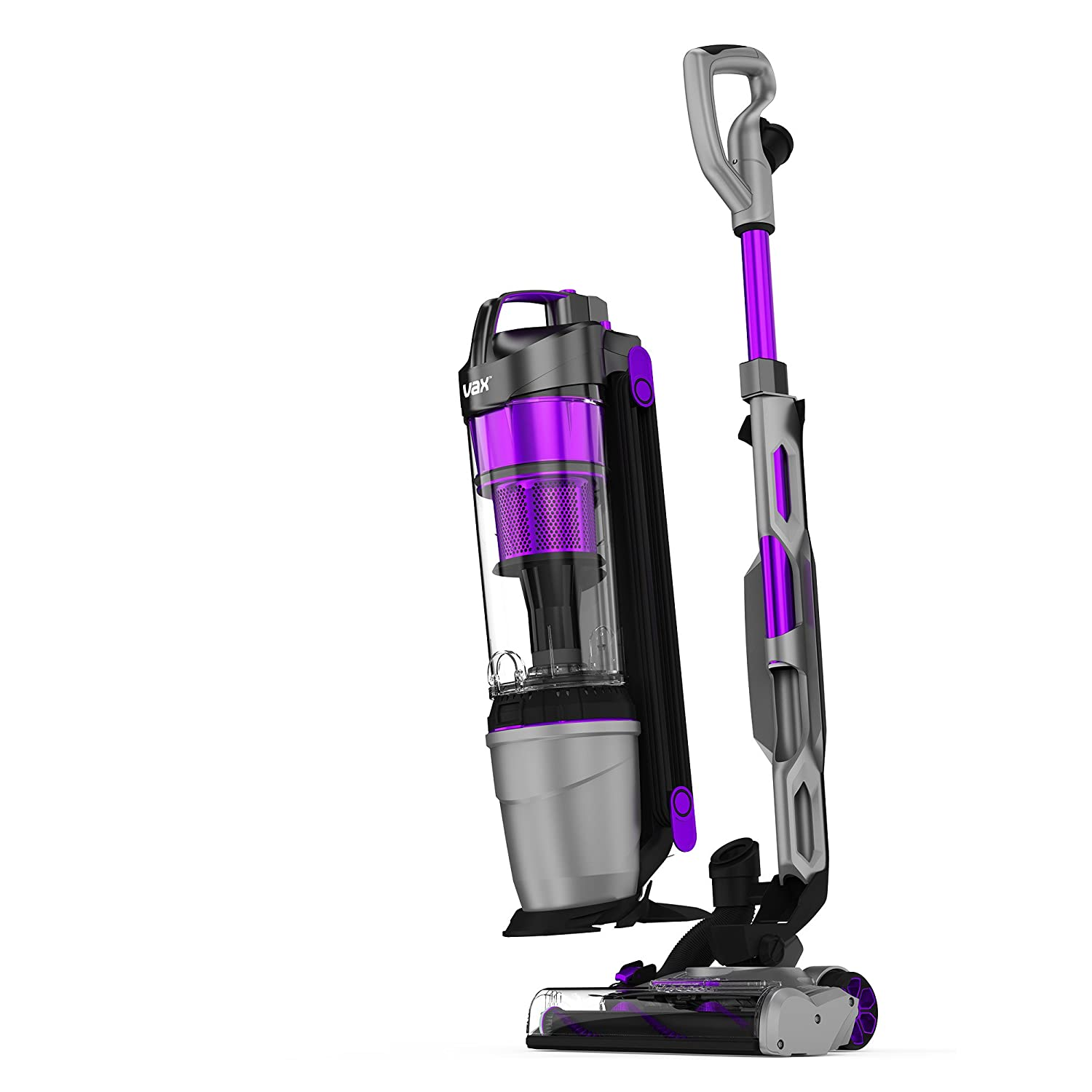 Vax UCUESHV1 Air Lift Steerable Pet Pro Vacuum Cleaner, 1.5 Liters, Black/Purple [Energy Class A]