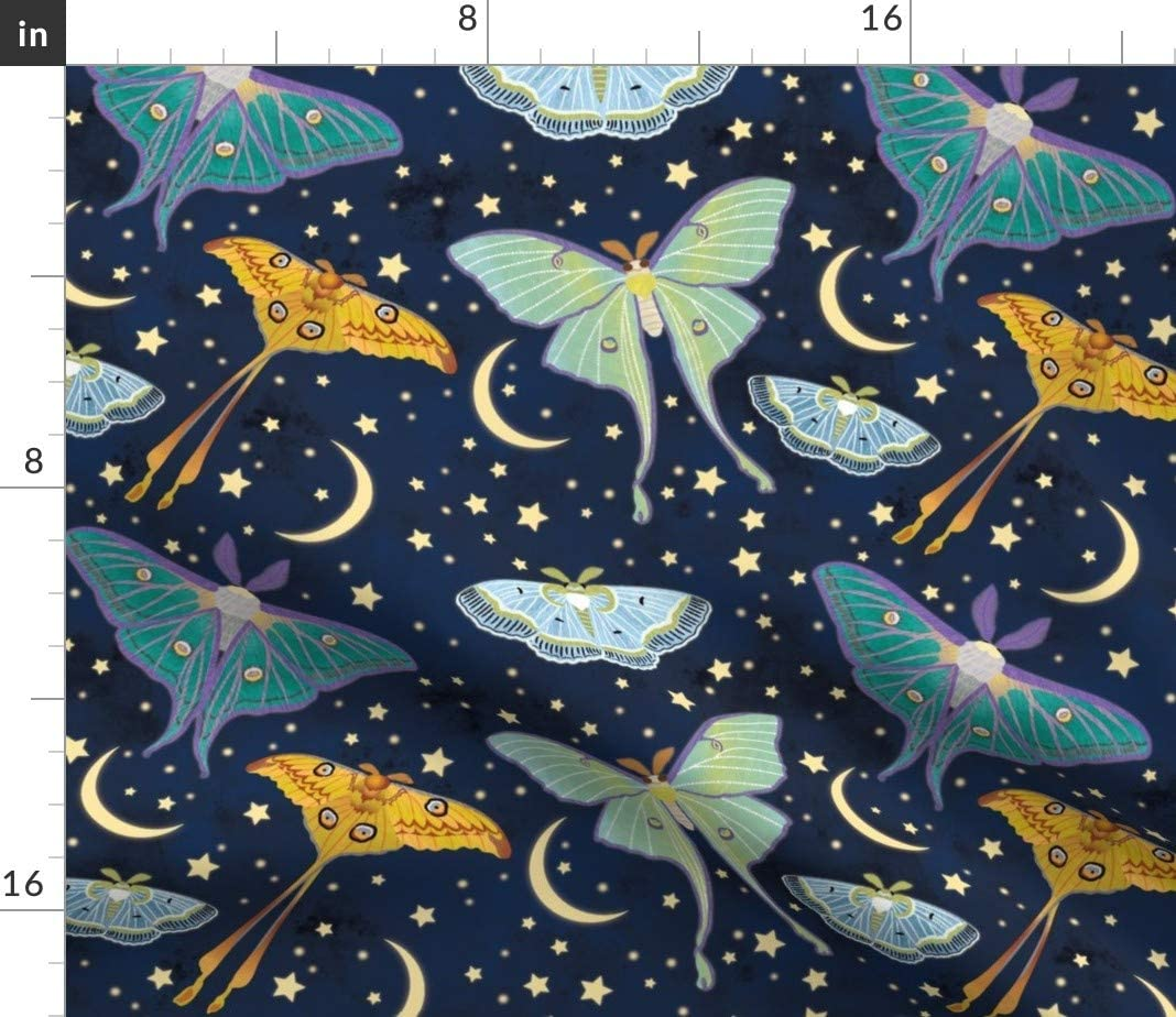 Luna Moths Spanish Moon Moths Pollinators Entomology Pillow Sham by Roostery