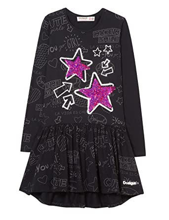 Desigual Dress Oaxaca Vestito Bambina