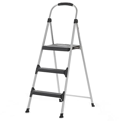 Cosco Signature 3-Step Stool  sc 1 st  Amazon.com : cosco steel step stool 3 step - islam-shia.org
