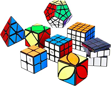 Roxenda Cubo M/ágico Cubo de Velocidad Megaminx Puzzle Stickerless M/ágico Speed Cubo Rompecabezas S/úper Duradero y F/ácil Giro