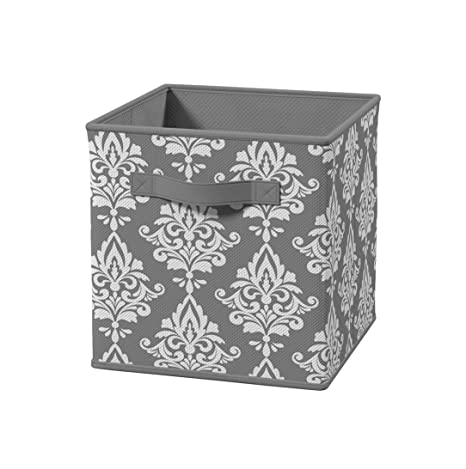 Amazon Com Closetmaid 3254 Cubeicals Fabric Drawer Gray Damask