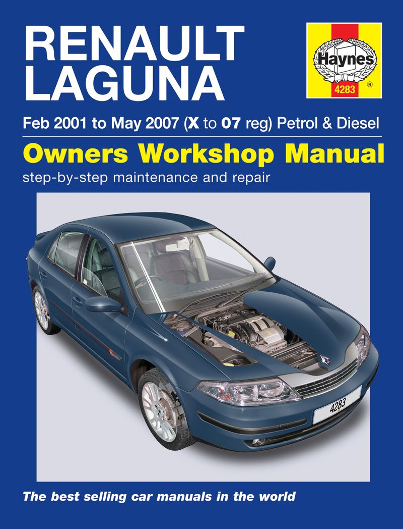 Renault Laguna Repair Manual Haynes Manual Service Manual Workshop Manual  2001-2007: Amazon.co.uk: Car & Motorbike