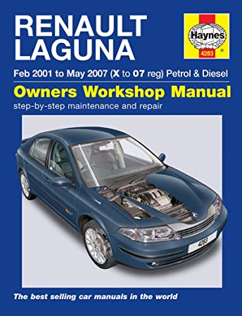 renault laguna repair manual haynes manual service manual workshop rh amazon co uk renault laguna 2 service manual renault laguna iii service manual pdf
