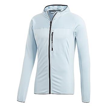 daa231384f8f9 adidas Veste TERREX TraceRocker Hooded Fleece  Amazon.co.uk  Sports    Outdoors