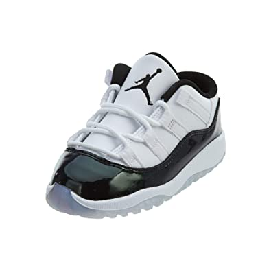 da152e8d974 NIKE Air Jordan XI 11 Low Iridscent Emerald Rise Todder Baby Shoes 505836-145  US
