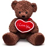 "Bears for Humanity 16"" I Love You Bear, Brown"