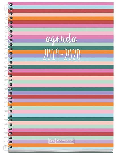 Miquelrius Agenda Escolar 19/20 Semana Vista Malabar Castellano