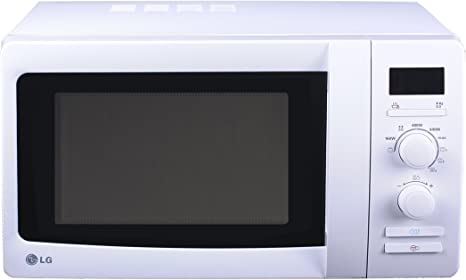 LG - Microondas Mh6339H, 23L, 800W, Grill Simultaneo, Blanco ...