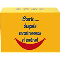 SMARTY BOX Regalo Caja original de Caramelos y Gominolas, con frases. para Amiga, Novía. Chuches, Chucherías sin Gluten…