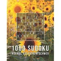 1000 Sudoku - Normal Bis Extrem Schwer: Die Große Rätsel Sammlung | Tolles Geschenk für Erwachsene, Großeltern, Senioren | Rätselbuch mit Lösungen