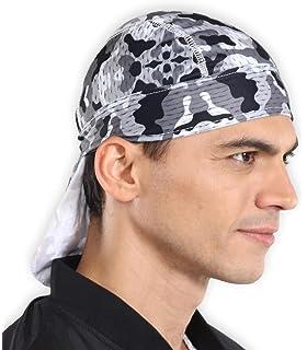 fdaf3e8121b Sweat Wicking Cooling Helmet Liner - Do Rag Skull Cap Beanie for Men    Women.