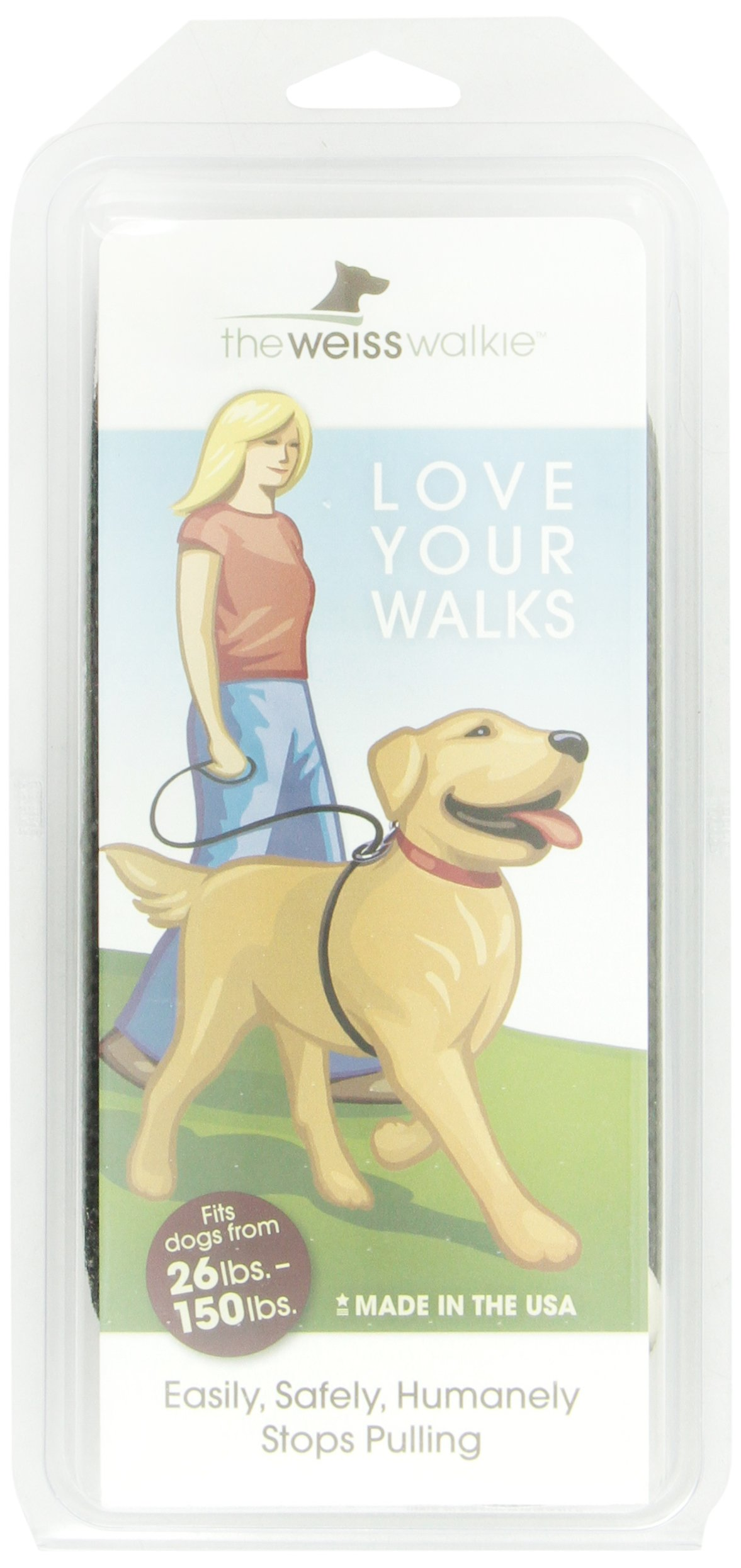 Weiss Walkie No Pull Dog Leash, Large, Black by Weiss Walkie (Image #2)