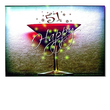Digital Oasi Compleanno Carte 51 Congratulazioni Biglietti D