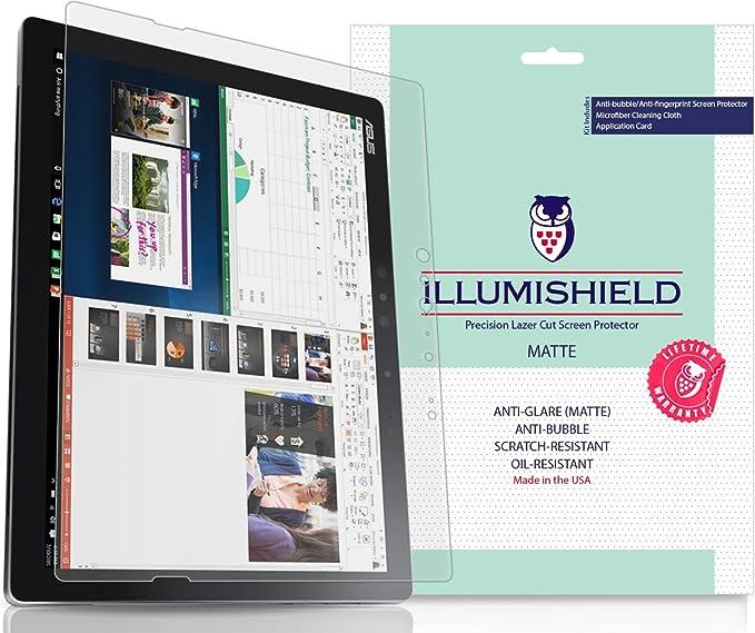 12.6 2x iLLumiShield Screen Protector Anti-Bubble for Asus Transformer 3 Pro