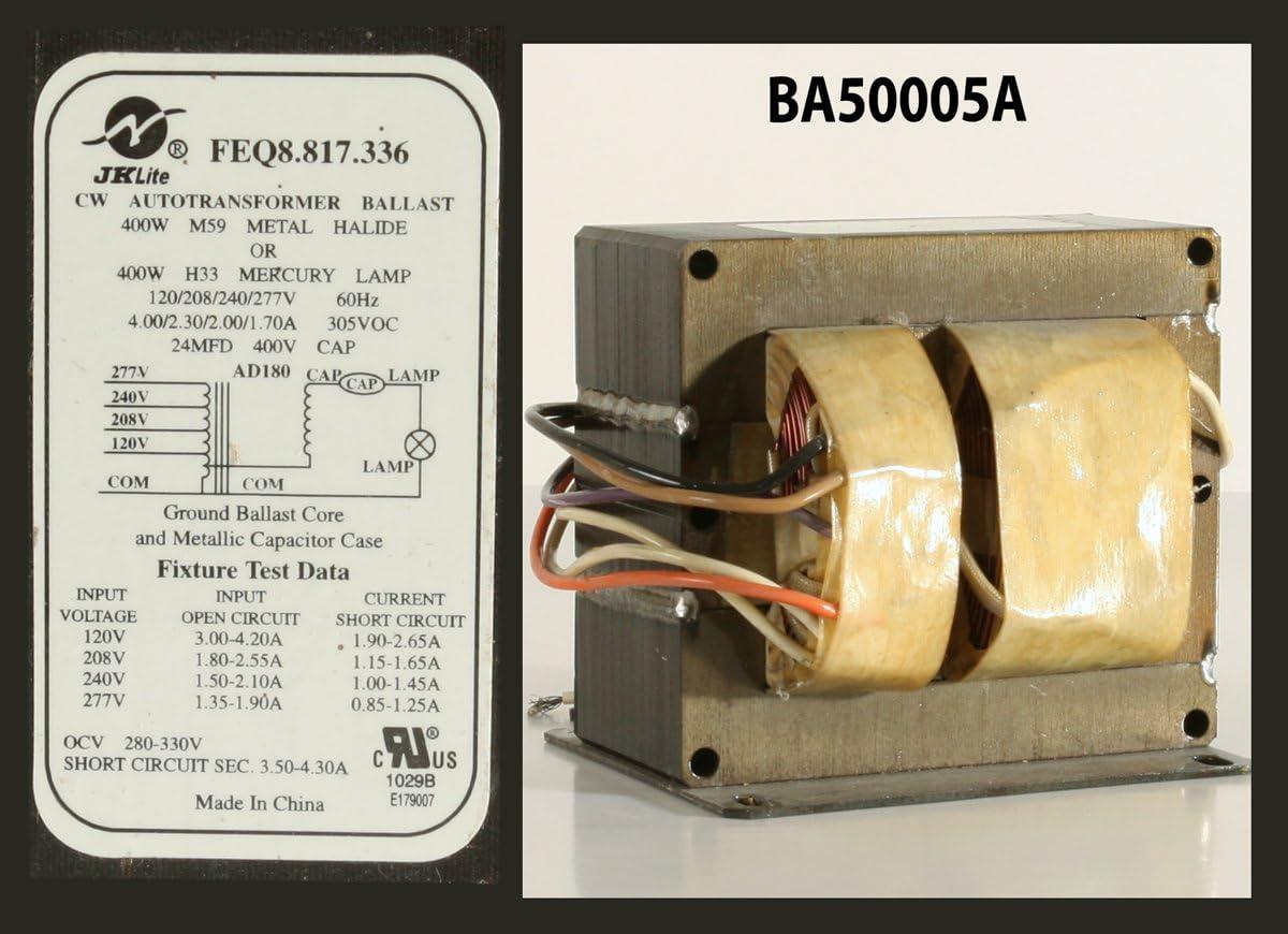 Hydrofarm Ballast magn/étique Xtrasun de 400/W Blanc 34x20x16 cm