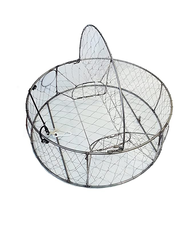 Amazon Com Kufa Stainless Steel Crab Trap With Zinc Anode