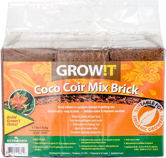 Cheapest Hydroponic Growing Medium - Coco Coir
