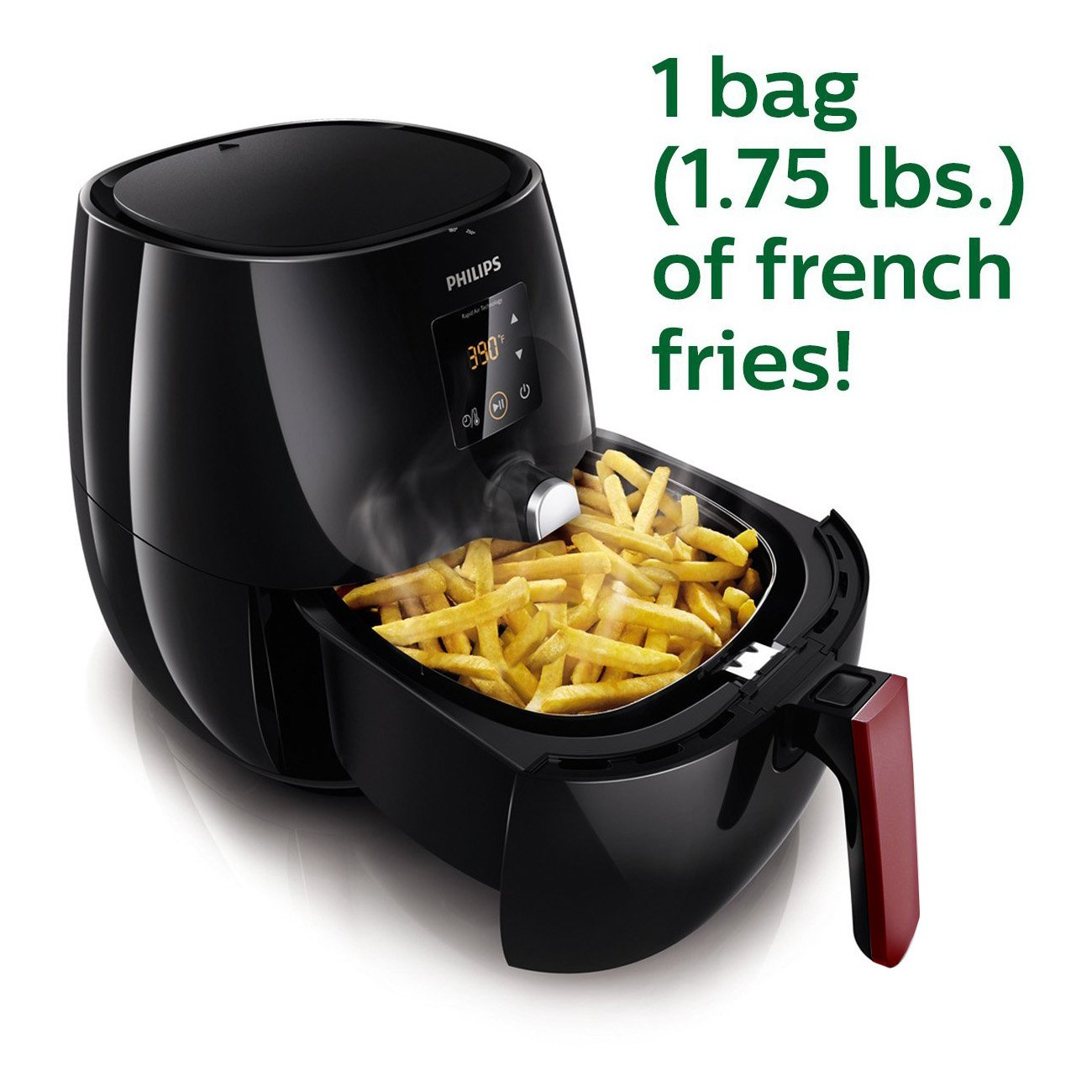 Philips HD9230/26 Viva Collection Digital Airfryer, Negro HD9230/26: Amazon.es: Hogar