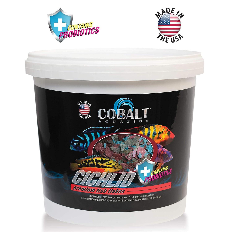 Cobalt Aquatics Cichlid Flake, 16 oz