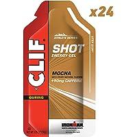CLIF SHOT - Energy Gel - Mocha - (1.2 Ounce Packet, 24 Count)