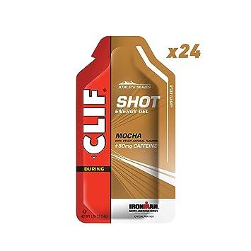 f6c7053f243cad Amazon.com  CLIF SHOT - Energy Gel - Mocha - (1.2 Ounce Packet