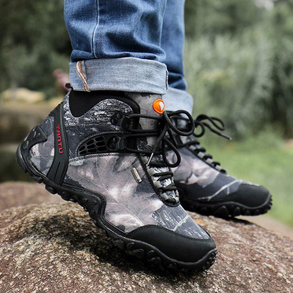 YSZDM Herren Wanderschuhe Wanderschuhe Leichte Leichte Leichte Outdoor Slip-on-Turnschuhe für atmungsaktive Kletterschuhe,Gelb,42 bc8ed2