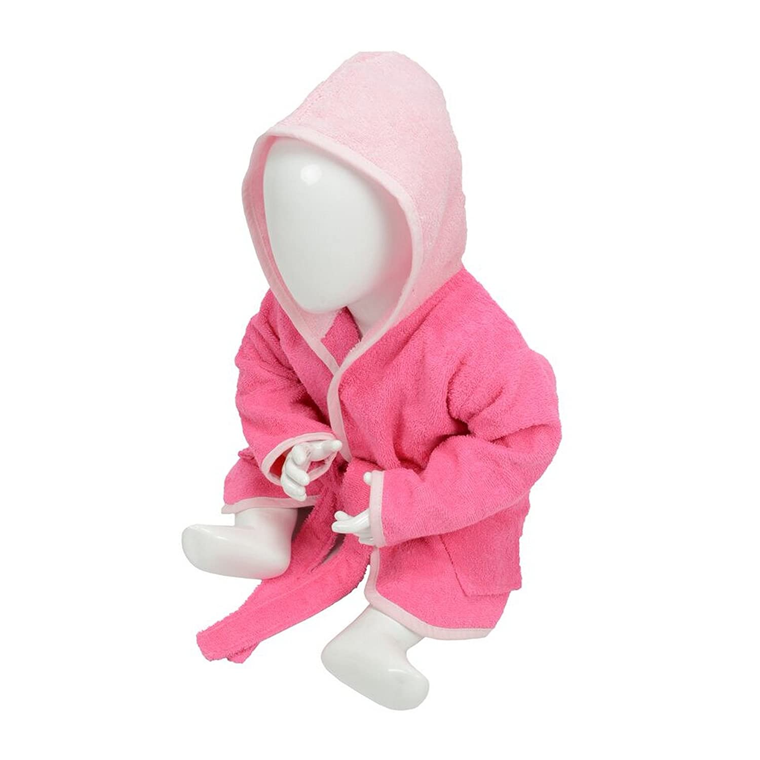 A/&R Towels Baby//Toddler Babiezz Hooded Bathrobe