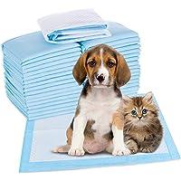 Toallitas de Entrenamiento para Mascotas, HyAiderTech Empapadores Toallitas Pañales Almohadillas de Entrenamiento para…